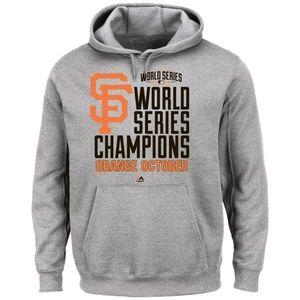 Majestic MLB 2014 SF Giants World Series Champions